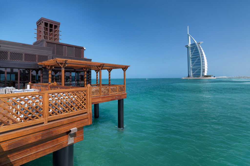 Few Dubai brunches can compare to the stunning over-water experience at Pierchic at Madinat Jumeirah.