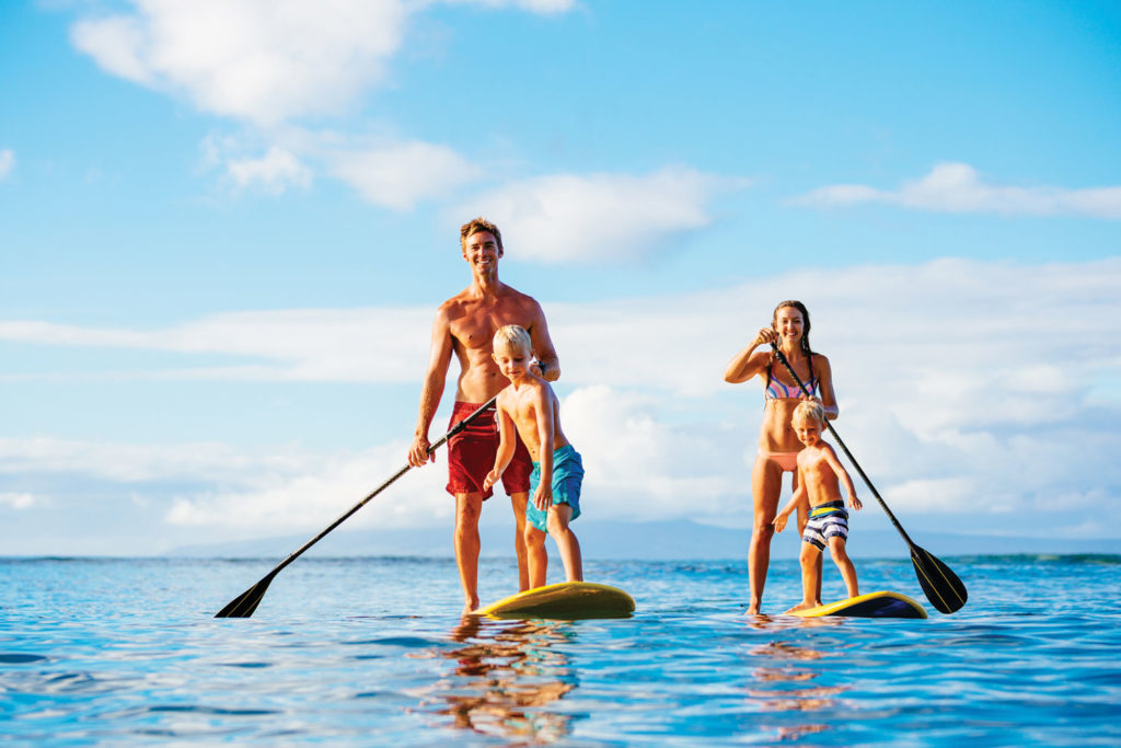 Kā'anapali Beach Hotel's stand up paddle lessons