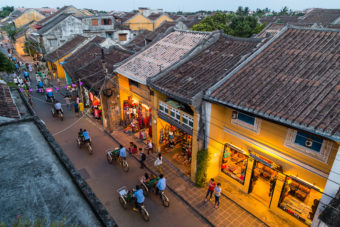 Walks through Hoi An Vietnam
