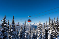 Whistler Blackcomb Peak to Peak Gondola