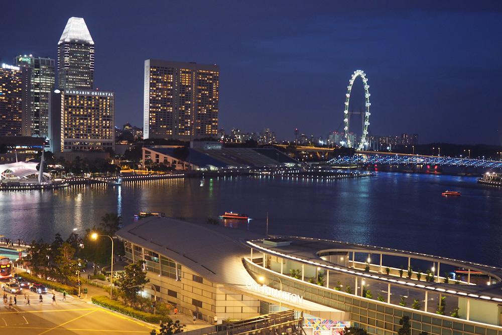 Singapore Fullerton Hotel Palladian Suite Views Marina Bay