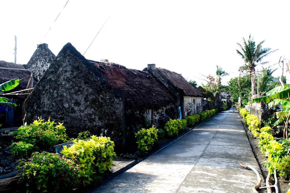 Ivatan stone houses, Batanes, Philippines