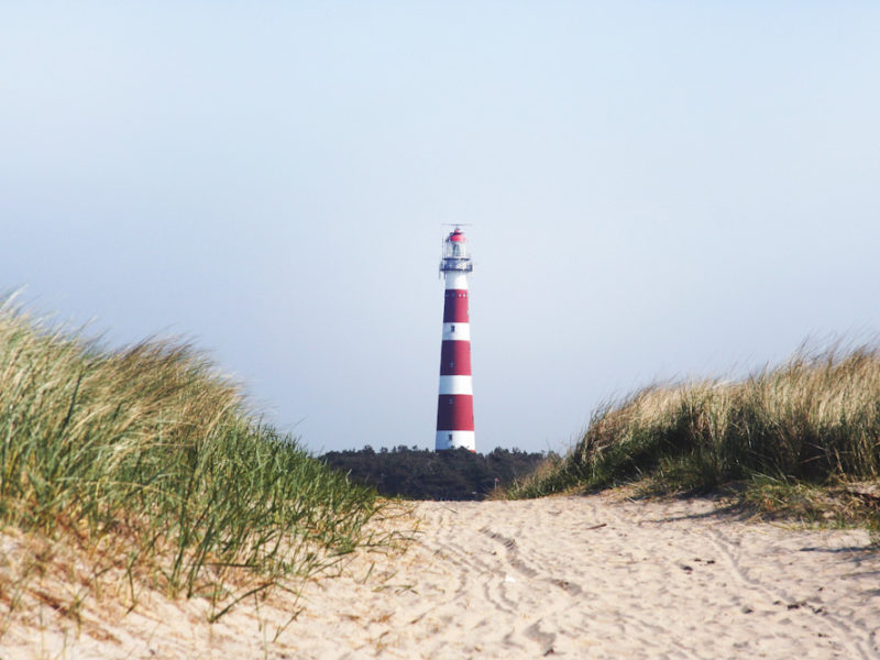 lighthouse in Ameland, Netherlands