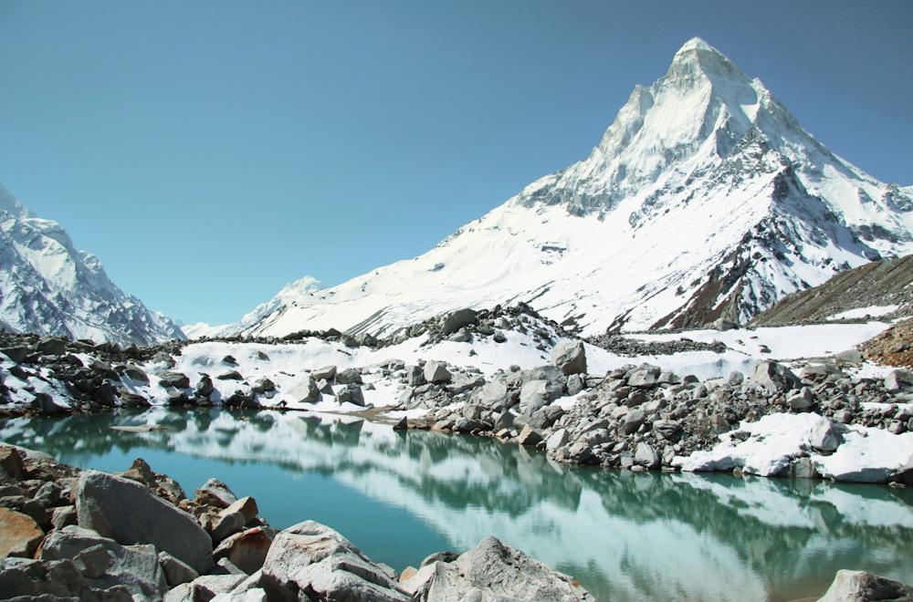 Gangotri mountains, India