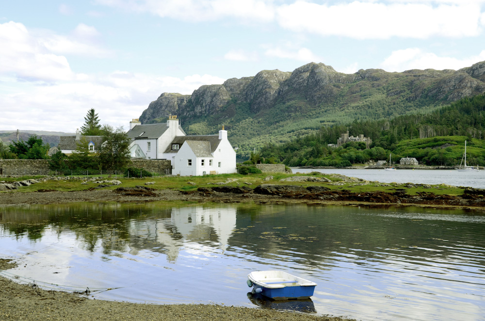 Plockton castles highlands, secret travel gem