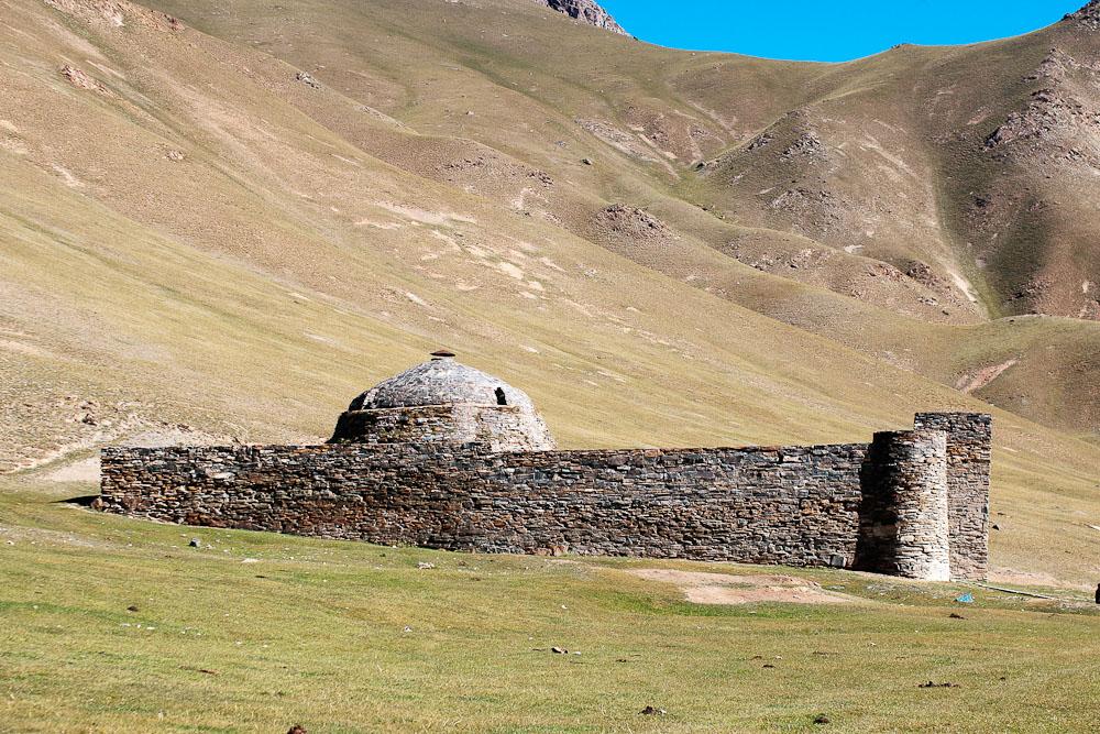 Tash Rabat castle Kyrgystan