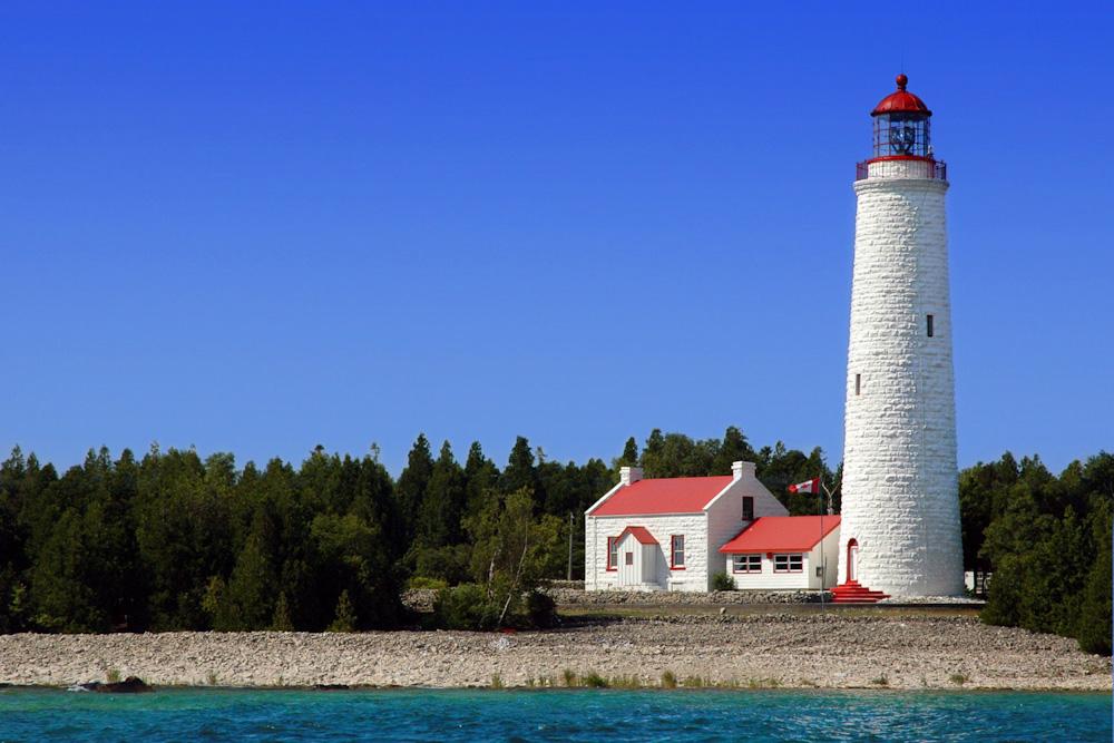 imperial lighthouse chantry island bruce peninsula