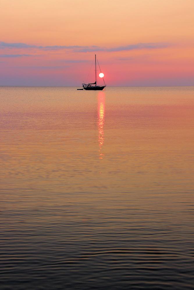 sunset bruce peninsula ontario