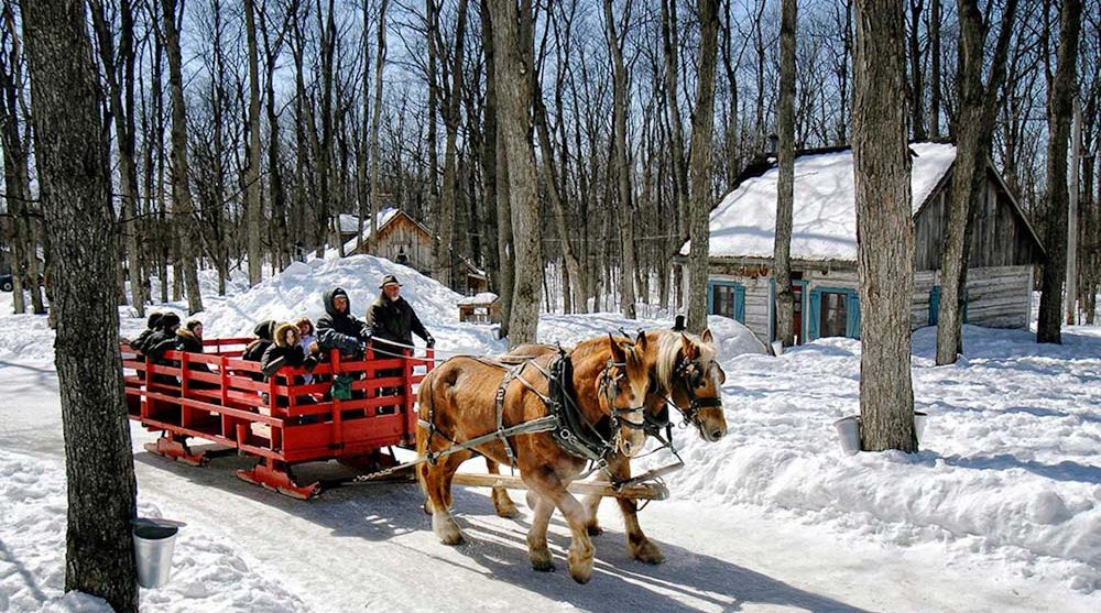 slrighride Quebec Sucrerie de la Montagne sugar shack