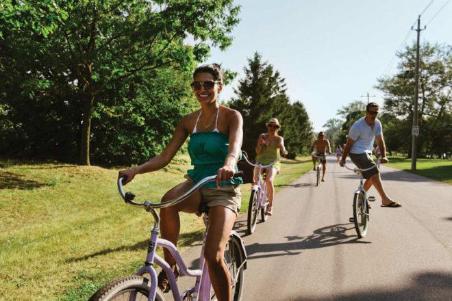 canada ontario toronto holidays travel cycling island park