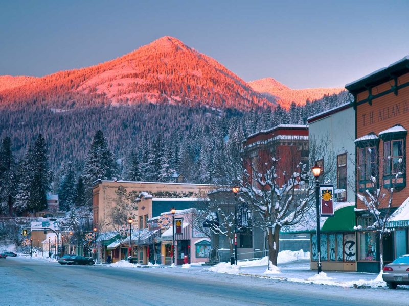 Rossland, Red Mountain, Powder Highway