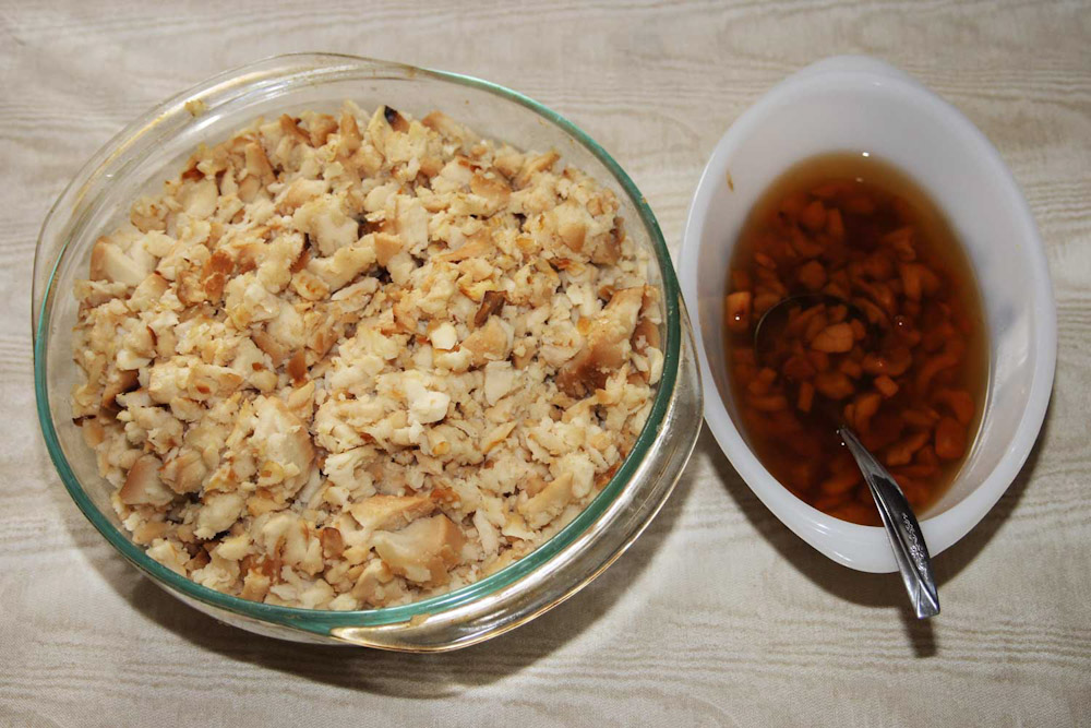 newfoundland food foodies eat dine traditional scrunchions fish brewis