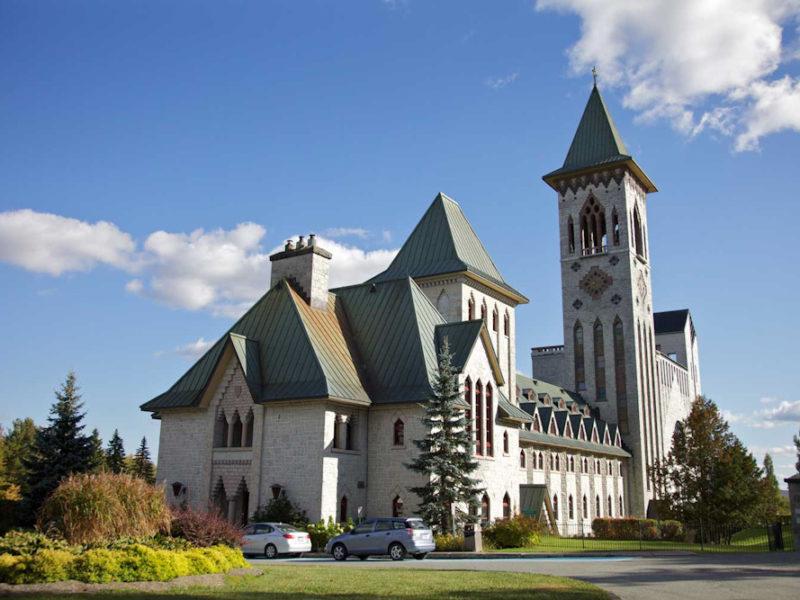 Saint Benedict Abbey canada eastern townships Québec