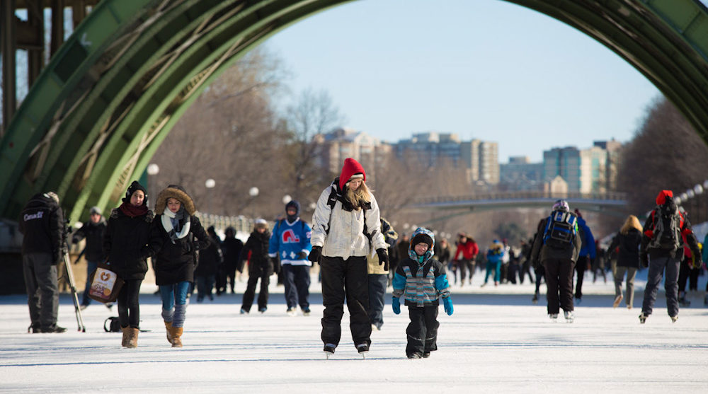 ottawa canada travel attractions rideau canal winterlude festival