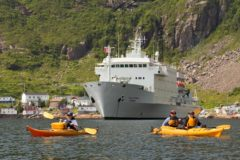 Eastern Canada ocean adventure island holidays maritimes zodiac fins and fiddles expedition kayaks