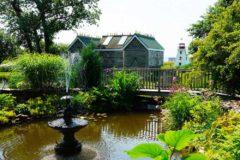 attractions prince edward garden martimes garden glass bottle houses