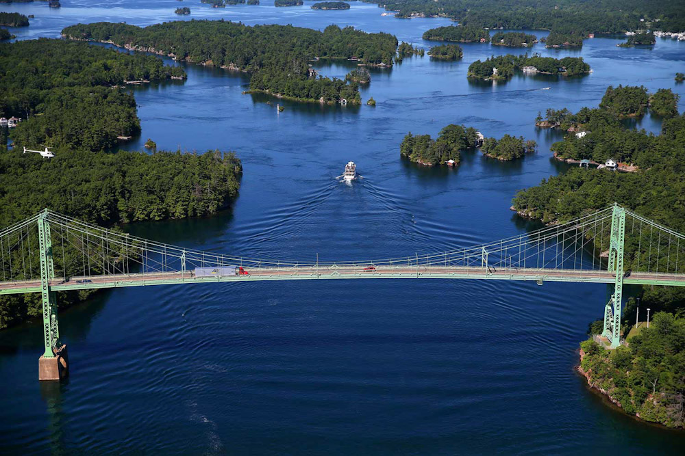 Canada Thousand Islands cruise