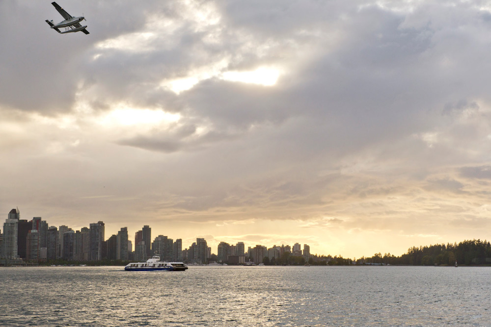 Canada Vancouver holidays seabus seaplane burard inlet