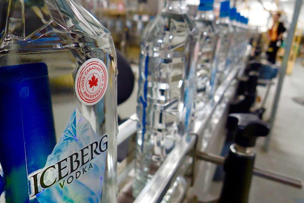 newfoundland drink wine alcohol beer vodka iceberg