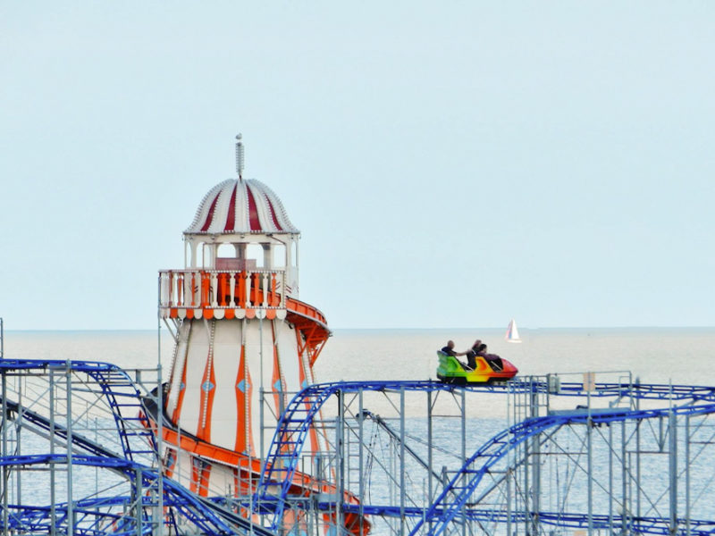 Clacton seaside holiday amusement parks family