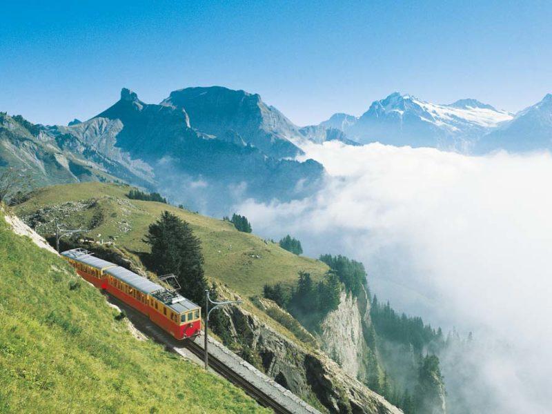 travel Switzerland train