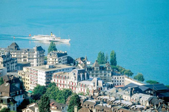 Switzerland city guide Montreux