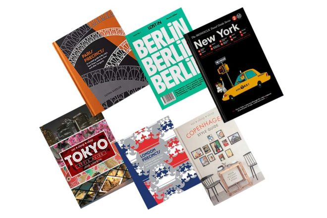 travel guides London Berlin New york Copenhagen Paris Tokyo