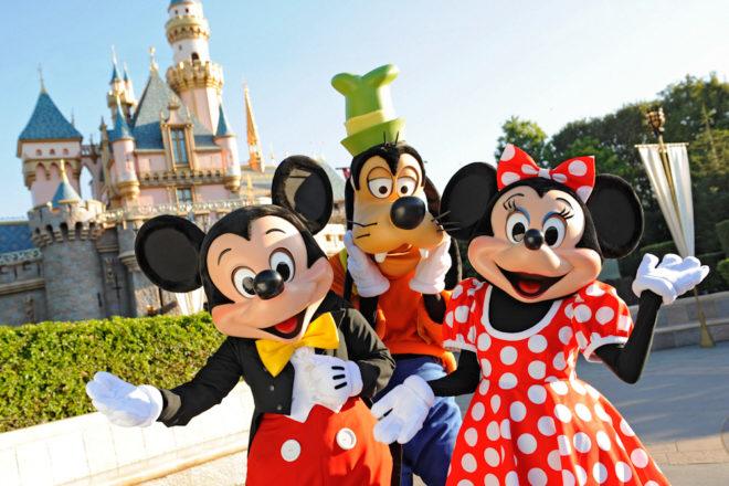 Disney characters themepark