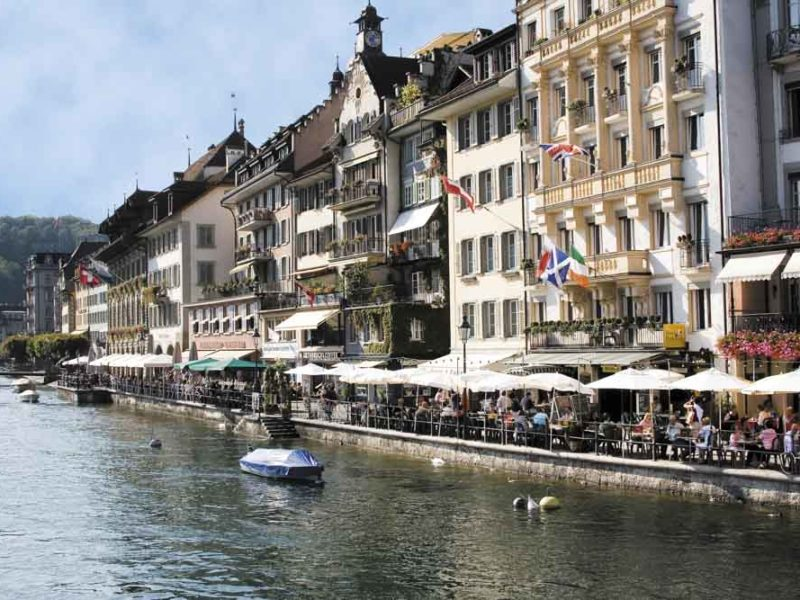 Switzerland city guide lucerne