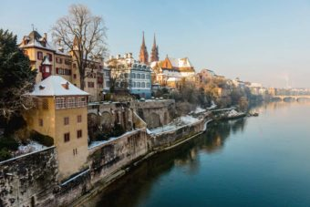 Switzerland city guide Basel Rhine river