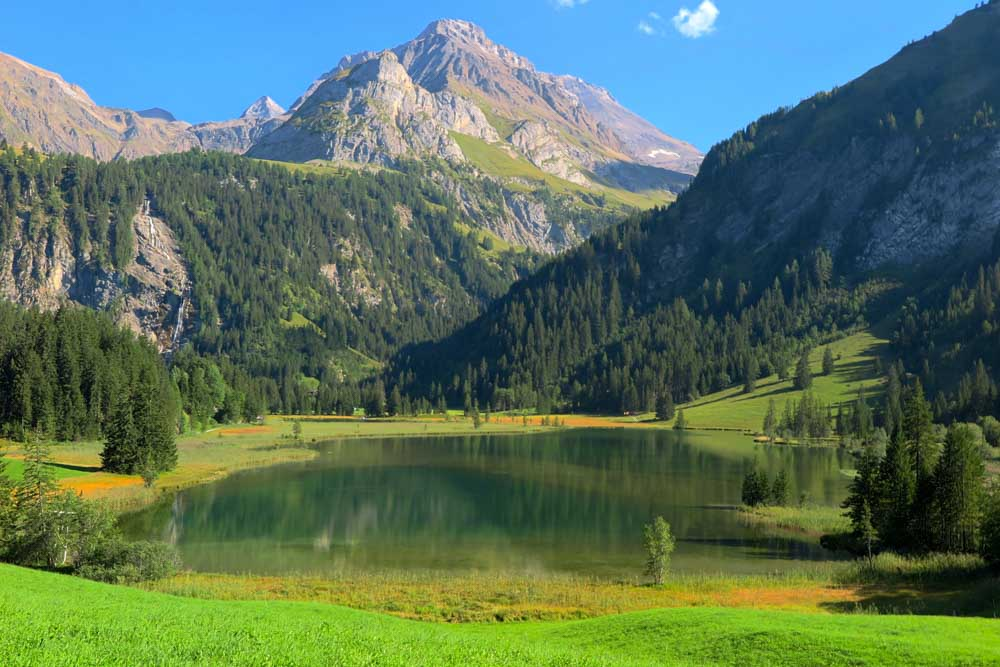 Switzerland Lake Lauenen