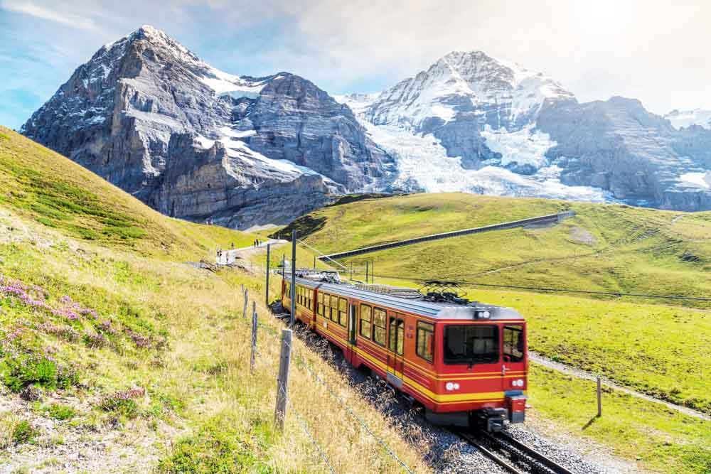 train travel switzerland