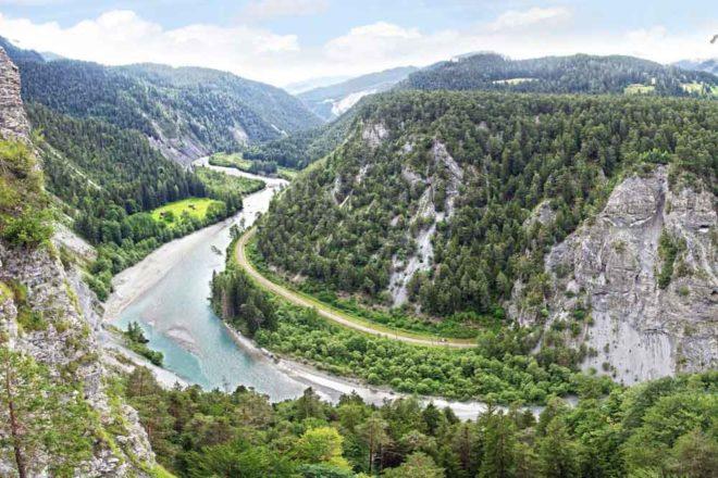 Rhine river france