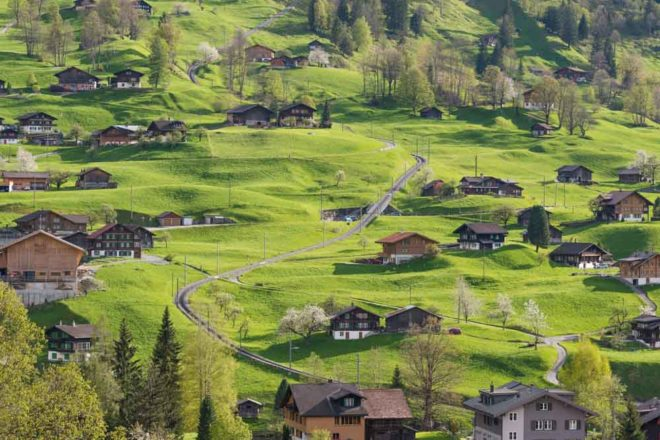 switzerland by automobile car driving trips