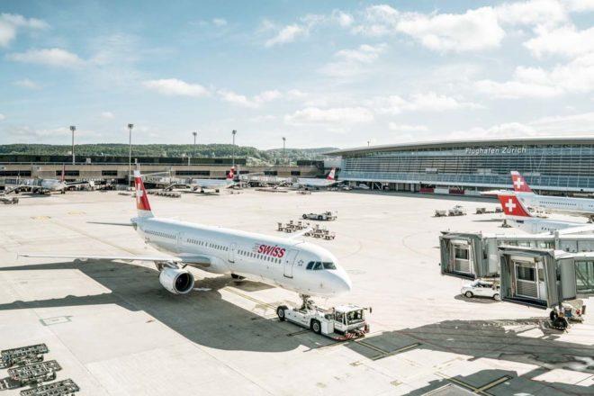 Zurich Travel Plane, Zurich Aiport
