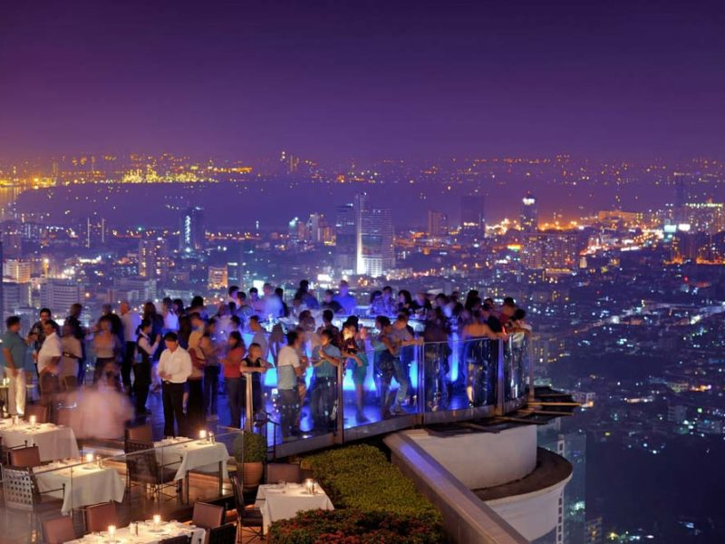 bangkok rooftop bars thailand nightlife