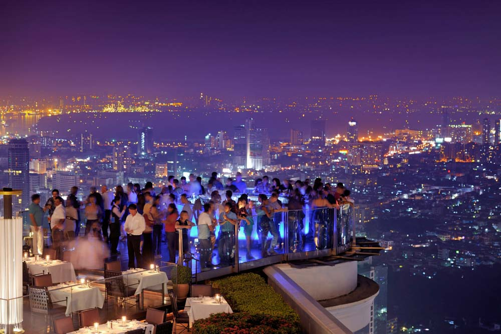 Bangkok 39 s 5 best rooftop bars international traveller for Fun things for couples to do in nyc
