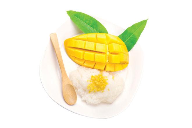 tasty thai dessert
