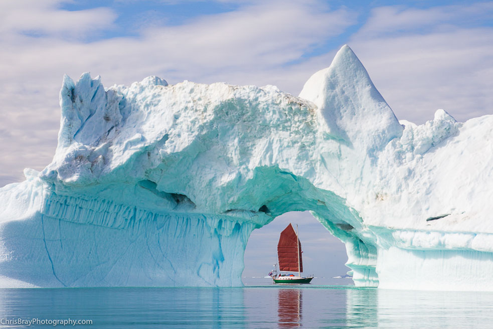 Sailing Greenland's west Coast