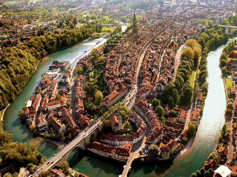 Bern Old Town Switzerland