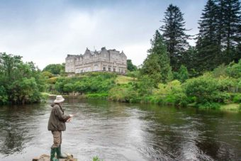 fly fishing ireland castle