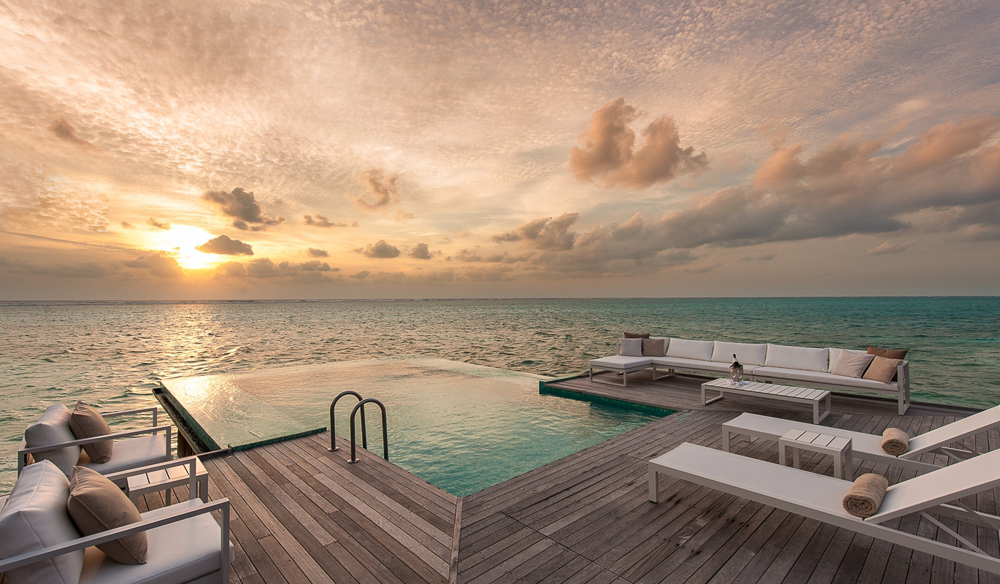 Conrad maldives Rangali Island is among the best luxury resorts in the country