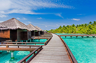 7 Night Sheraton Maldives package with up to $4000 Bonus Value Including Flights, return speed boat transfers, meals + more! View Deal