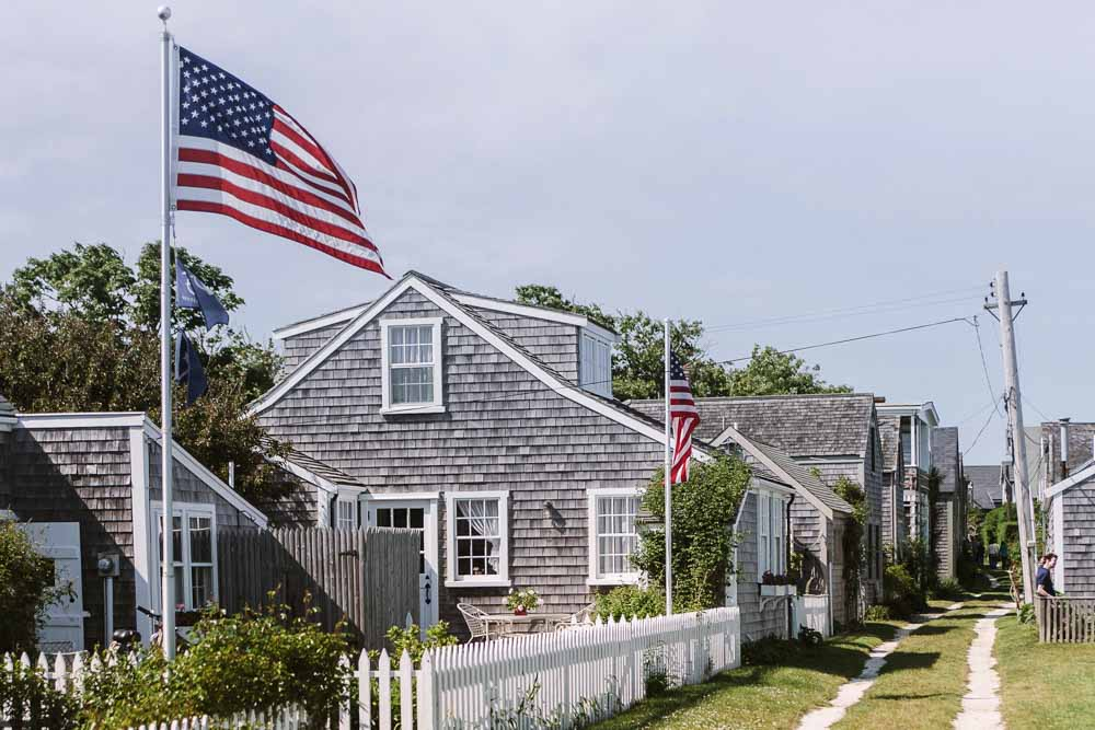 Nantucket Massachusetts cute town usa