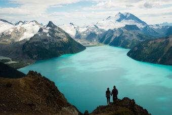 One of many stunning hikes around British Columbia, Canada.