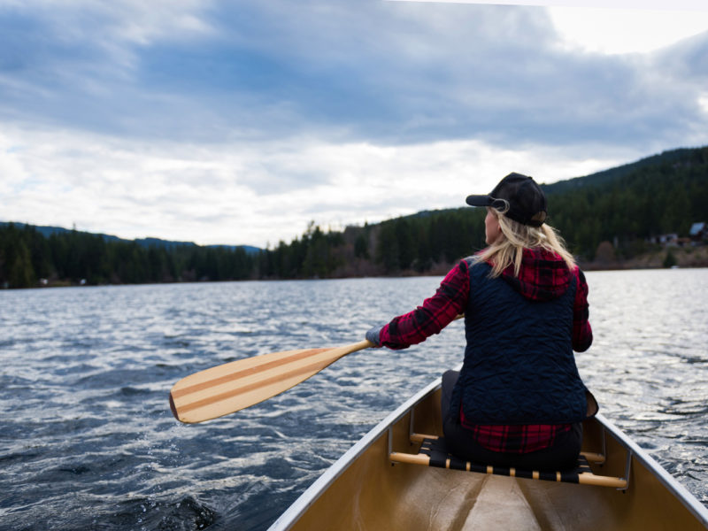 Solo female travel is especially popular in Canada.