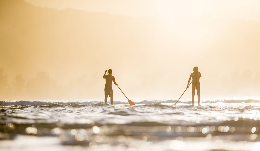 Paddle board with your number 1 as you take in the amazing scenes of Waikiki beach