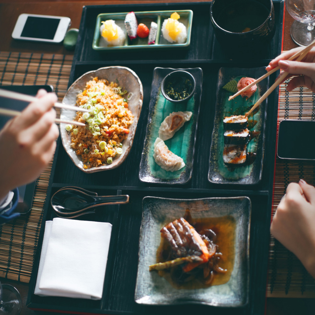 Thriving Japanese food scene in Vancouver, Canada.