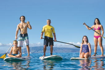 Ka'anapali Beach Hotel: Grab a stand up paddleboard at the Hale Huakai Beach Activity Center
