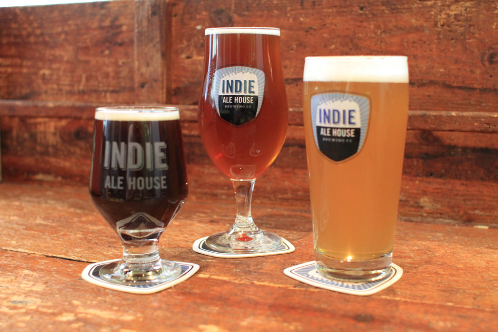 Indie Alehouse in Toronto, Canada.